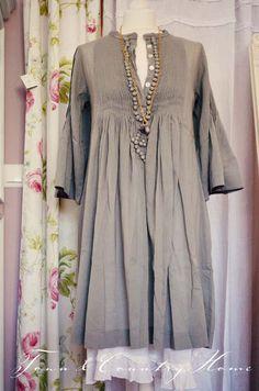 grey dress with underskirt