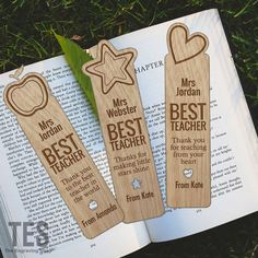 Personalised Teacher Bookmark For End Of Term Summer Leaving Thank You Present