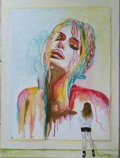 Beautyful woman... Paintings, Woman, Portrait, Beauty, Art, Art Background, Paint, Headshot Photography, Painting Art