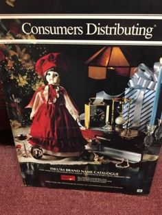 Vintage Consumers Distributing Catalogues from the Memory Books, My Memory, Canadian History, My Generation, Oldies But Goodies, My Childhood Memories, The Good Old Days, New Toys, Back In The Day