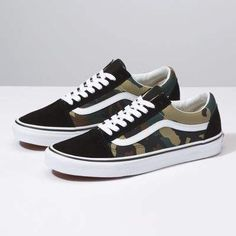 490992b16c Woodland Camo Old Skool. Vans CamoCamo ShoesMens ...