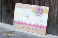 "Jessica Elyse Designs: ""Simply Lovely"" Blank Card - for sale by Jessica Elyse Designs"