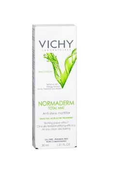 """C'est Beau! Our Favorite French Beauty Picks #refinery29  http://www.refinery29.com/french-beauty-products#slide8  """"My skin gets extremely oily when I'm out and about (especially during these muggy NYC summers). I used to swear by blotting papers, but I recently discovered this mattifier and it's a godsend. It gives my skin an all-day clean feeling and, most importantly, keeps me shine-free.  """""""