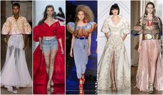 Beautifully Fierce!: Spring 2017 Haute CoutureTrends Puffy Sleeves #couture #fashion #trend