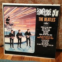 The Beatles Something New Vinyl Record for sale on Etsy!