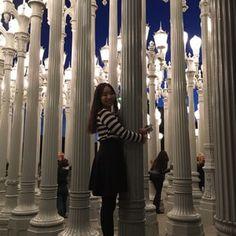 Photo of Urban Light at LACMA - Los Angeles, CA, United States