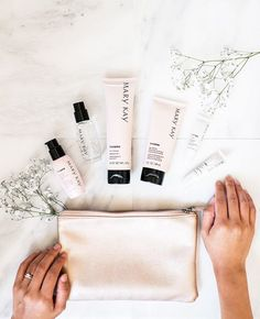 Love in your heart and beauty in your bag. Get your skin wedding-ready with our award-winning TimeWise® Miracle Set®! #MarryKay