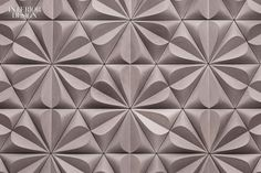 Edgy for Walker Zanger.  Manufacturer: Kaza Concrete for Walker Zanger.Products: Kaza collection.Standout: Tactile tiles can create wall sculpture. These highly decor...