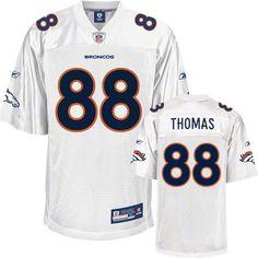 Reebok Denver Broncos Demaryius Thomas 88 White Replica Jersey Sale