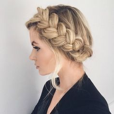 Master The Crown Braid Hairstyle- Here's How