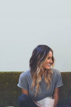 Ombré....I can't pull off  solid blonde, maybe I could try something like this for summer though.