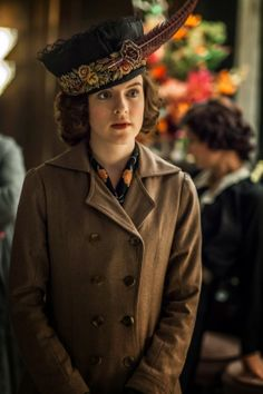 Aisling Loftus as Agnes in Mr. Selfridge Series 2