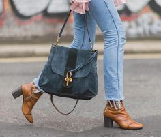 """Chloé on Instagram: """"Lexa, meet Lexie – our signature Lexie boots were perfectly in step with the Lexa bag, this season's street style favourite #LFW #chloeGIRLS Find them on chloe.com"""""""