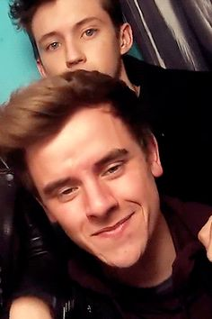 Connor Franta and Troye Sivan