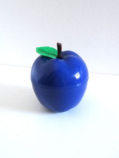 Seau à glaçons vintage pomme bleue années 70  Seau à par BrocAndPop