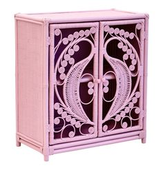 Peacock Cabinet Pastel Pink