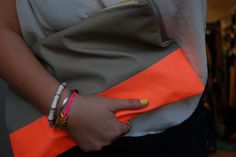 DIY Colour Block Pouch- Doing this!