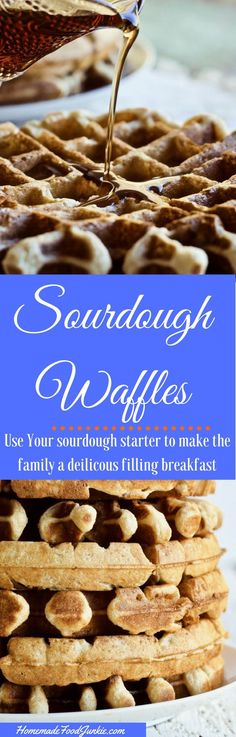 Sourdough Waffles ma