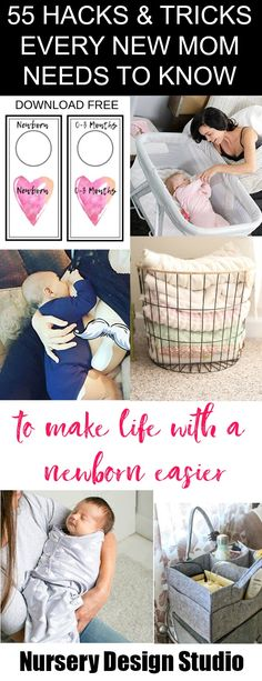 HACKS AND TIPS NEW MOMS NEED TO KNOW