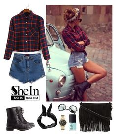 """""""Shein 3"""" by amra-f ❤ liked on Polyvore featuring Charlotte Russe, Rebecca Minkoff, NARS Cosmetics, Marc by Marc Jacobs and Boohoo"""