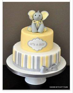 baby shower woodland animals cakes Baby Shower Cake and Favours Torta Baby Shower, Baby Shower Pasta, Baby Boy Shower, Elephant Baby Shower Cake, Simple Baby Shower Cakes, Baby Shower Cakes Neutral, Baby Cakes, Cupcake Cakes, Shoe Cakes