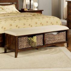 Great Bedroom Bench Storage