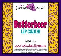 Butterbeer Lip Balm - The Best Lip Balm