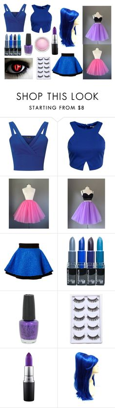 """""""Ballora Extras/Alternatives"""" by infiglo on Polyvore featuring Miss Selfridge, Glamorous, FAUSTO PUGLISI, OPI and MAC Cosmetics"""