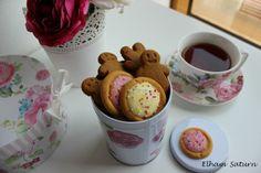 #yummy #tea #cup #cupoftea #gingerman #floral #flower #myworld #shabby #chic #shabbychic