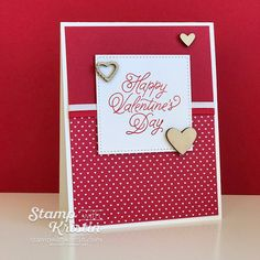 Sealed With Love Valentine Card by Kristin Kortonick featuring Stampin' Up! Occasions Catalog Sneak Peek Products.