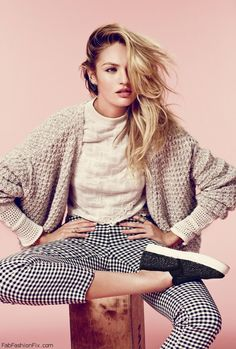 Candice Swanepoel for Free People 2014 Catalog