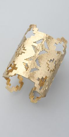 Pamela Love Zuni Cuff #geometric