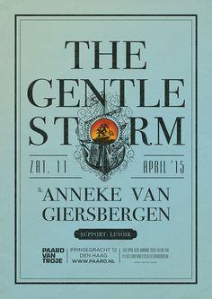 The Gentle Storm & Anneke van Giersbergen Zaterdag 11 april http://www.paard.nl/event/3886/THE-GENTLE-STORM-FT-ANNEKE-VAN-GIERSBERGEN