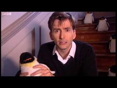 "BEDTIME STORY! David Tennant Reading ""How High Is the Sky"" with Penguins. @Hannah Silvieus"