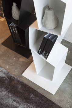 SU by Ronda Design. #modular #metal #bookcase (detail) #contemporary #design #furniture #etimodesign #diegocollareda