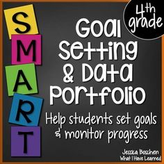 This packet will help students start setting academic and behavior goals. Through classroom discussions students are introduced to the concept of SMART goals and learn how to set a realistic goal. Data Binders, Data Notebooks, Student Goals, Student Data, Behavior Goals, Goal Setting For Students, Fifth Grade, Second Grade, Grade 2