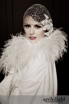 Art Nouveau and Art Deco, Lindsay Fleming's collection of 1920s inspired wedding dresses: part 1