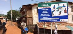An actual photograph of a poster in West Africa to show people images of the symptoms as well as telling them what they are. Remember Barack Ebola is letting all flights from these countries land in the US and the passengers, infected or not, enter the general population. Must be the way he wants it to be since he lets it continue.