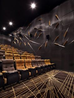 Cinema Theatre, Home Theater, Riverside Park, Chongqing, Wuhan, Light And Shadow, Creative Inspiration, Design Elements, Palace