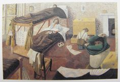 Evelyn Dunbar - Land Army Girls going to Bed