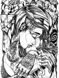 Sofles - Obscenely amazing Australian graffiti artist.