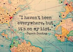 my travel bucket list to cure anyones wanderlust Oh The Places You'll Go, Places To Travel, Travel Stuff, Travel Destinations, Travel Things, The Best Is Yet To Come, I Want To Travel, Adventure Is Out There, Travel Quotes