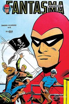 Fantasma  n° 6/Rge   Guia dos Quadrinhos Indrajal Comics, Fred Flintstone, Indiana Jones, Comic Book Characters, Comic Covers, Film Movie, Comic Strips, Game Art, Nostalgia
