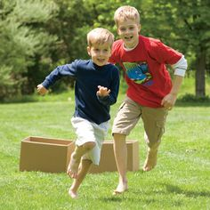 26 group and outdoor games for kids.  Add variety to summer.