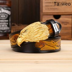 just in ! Fashion Men's Cow... Get yours at http://beu.co/products/fashion-mens-cowhide-leather-eagle-head-smooth-buckle-belt?utm_campaign=social_autopilot&utm_source=pin&utm_medium=pin