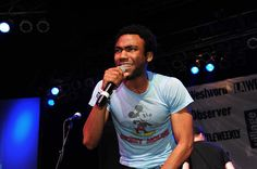 donald glover // childish gambino. um i'm kind of obsessed atm.