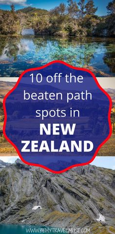 Traveling to New Zealand and want to get off the beaten path? Here are 10 spots that see very little tourists but are absolutely incredible and stunning, including a beautiful national park, gorgeous beaches, as well as cool street arts and more #NewZealand #NewZealandTravelTips