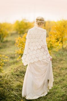 Pomegranate farm wedding inspiration   Photo by Tyme Photography   Read more - http://www.100layercake.com/blog/?p=77288 #fall #crochet #portrait