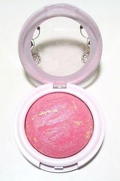 We love this bright blush that lasts all day. Hard Candy Blush Crush Baked Blush, $7, walmart.com