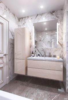 Lady& Houses: 10 Of The Most Elegant Modern Style Bathroom İdeas - Baños . - Lady& Houses: 10 Of The Most Elegant Modern Style Bathroom İdeas – Baños bathroom - Simple Bathroom, Bathroom Layout, Modern Bathroom Design, Bathroom Interior Design, Master Bathroom, Master Baths, Bathroom Kids, Bathroom Cabinets, Modern Design